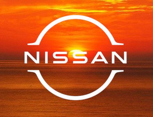 Het logo van Nissan